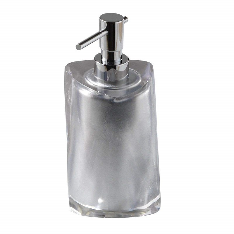 GEDY 4681 TWIST ROUND COUNTERTOP SOAP DISPENSER