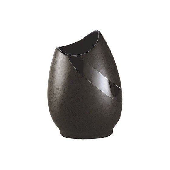 GEDY 5010 STONE ROUND POTTERY TOOTHBRUSH HOLDER