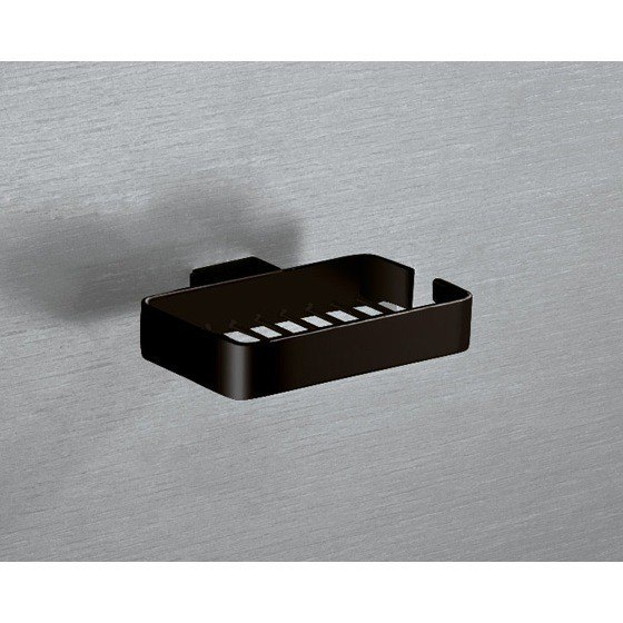 GEDY 5412 LOUNGE WALL MOUNTED SQUARE WIRE SOAP HOLDER