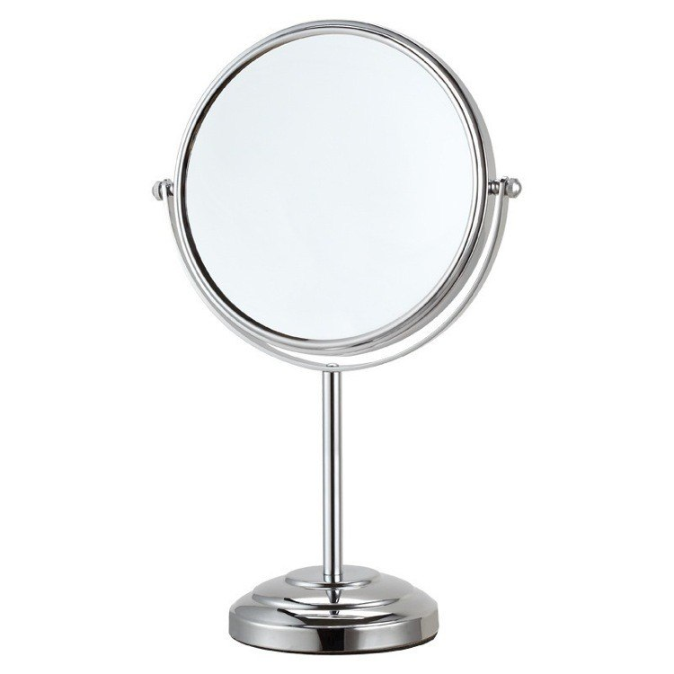 NAMEEKS AR7724-3X GLIMMER DOUBLE FACE 3X TABLE MAKEUP MIRROR