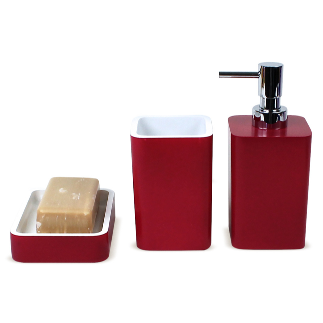 GEDY ARI200 ARIANNA ACCESSORY SET MADE OF THERMOPLASTIC RESINS