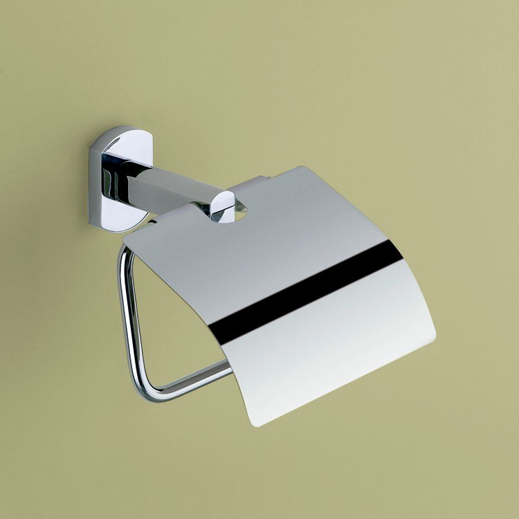 Gedy ED25 Edera Toilet Roll Holder with Cover