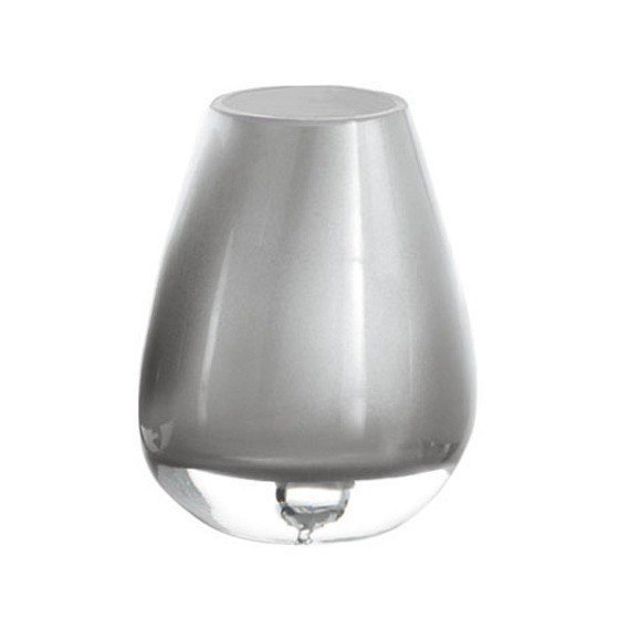 GEDY FO98-73 FORSIZIA ROUND GLASS TUMBLER IN SILVER