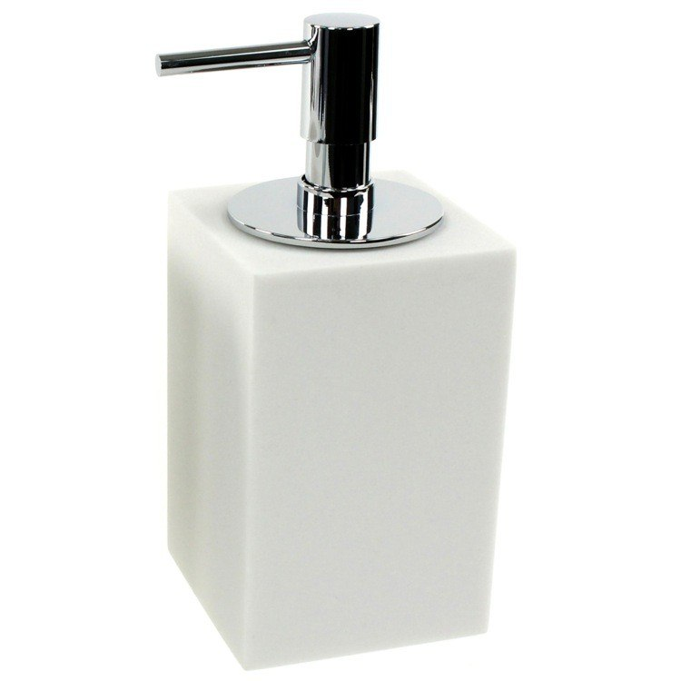 GEDY OL80 OLEANDRO SQUARE FREE STANDING SOAP DISPENSER