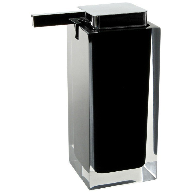 GEDY RA80 RAINBOW SQUARE COUNTERTOP SOAP DISPENSER
