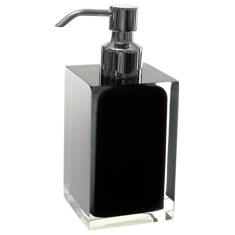 GEDY RA81 RAINBOW SQUARE COUNTERTOP SOAP DISPENSER