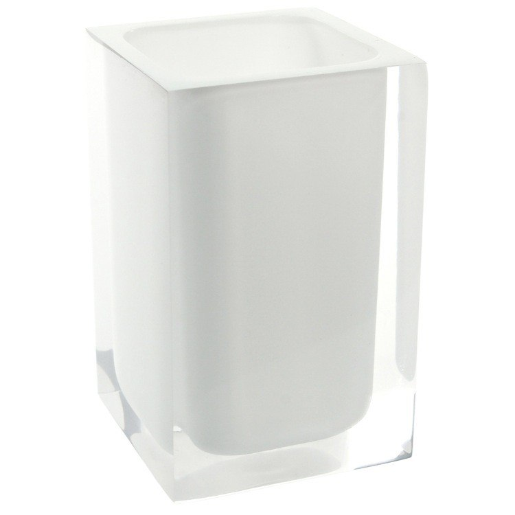 GEDY RA98 RAINBOW SQUARE TOOTHBRUSH HOLDER