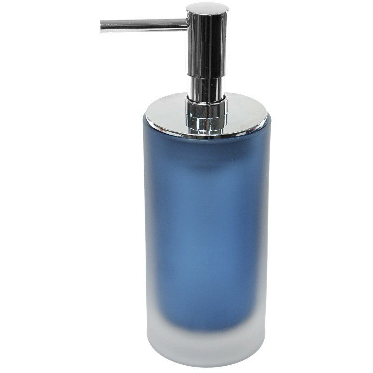 GEDY TI81 TIGLIO GLASS FREE STANDING SOAP DISPENSER