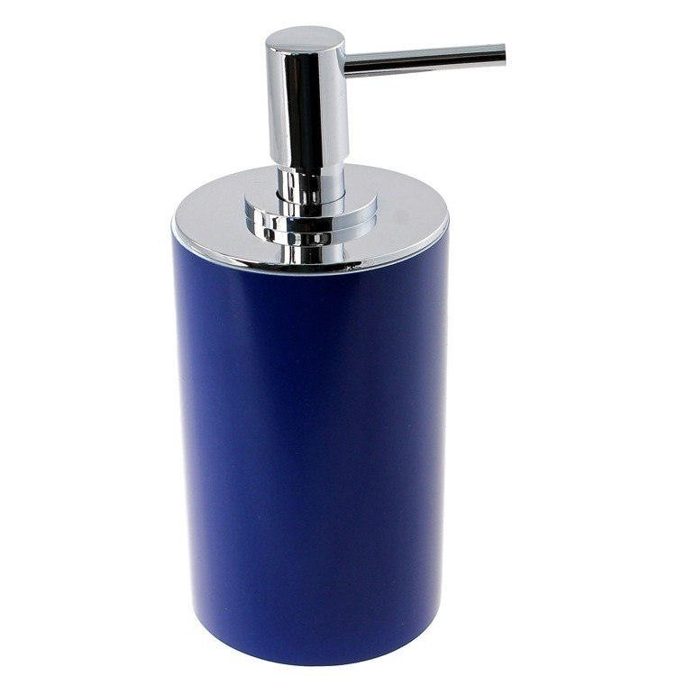 GEDY YU80 YUCCA FREE STANDING ROUND SOAP DISPENSER IN RESIN
