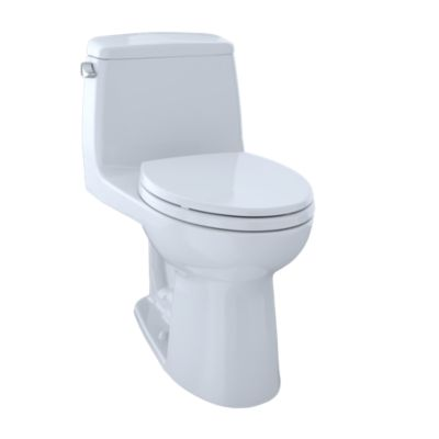 TOTO MS854114E ECO ULTRAMAX ONE PIECE ELONGATED 1.28 GPF TOILET WITH E-MAX FLUSH SYSTEM - SOFTCLOSE SEAT INCLUDED