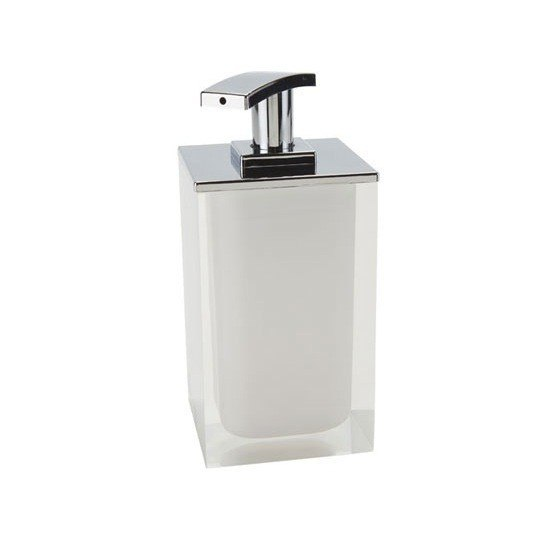 GEDY RA82 RAINBOW SQUARE SOAP DISPENSER MADE FROM RESIN