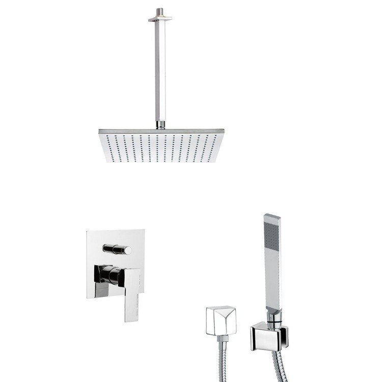 REMER SFH6505 PRIMAVERA SQUARE THEMED SHOWER FAUCET