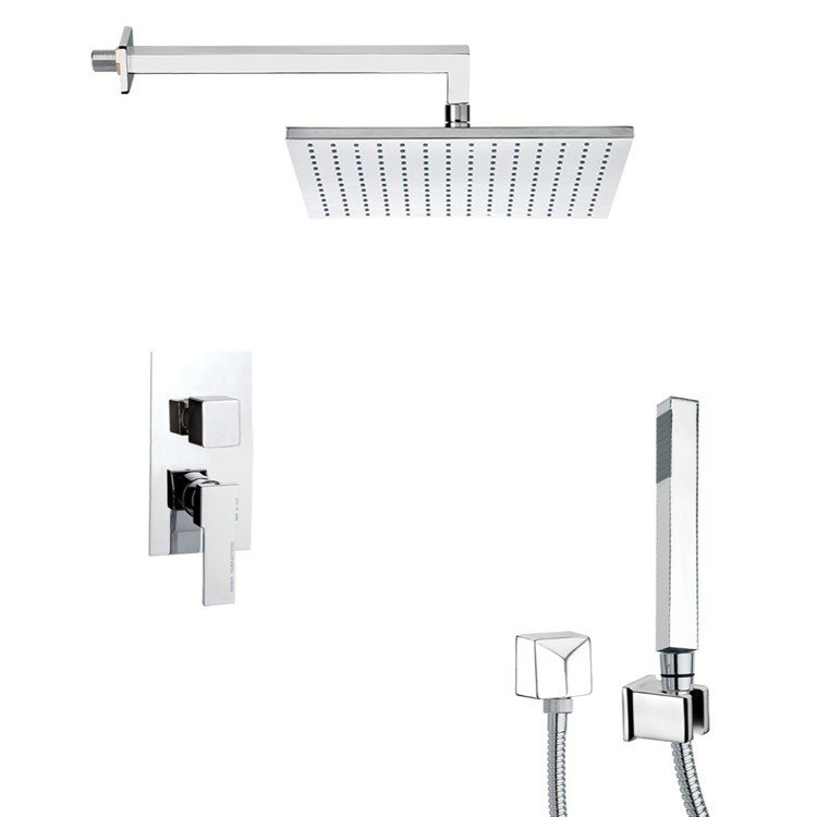 REMER SFH6509 PRIMAVERA CONTEMPORARY SHOWER FAUCET WITH HAND SHOWER