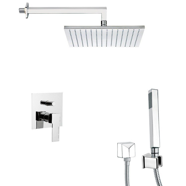 REMER SFH6512 PRIMAVERA SQUARE THEMED SHOWER FAUCET