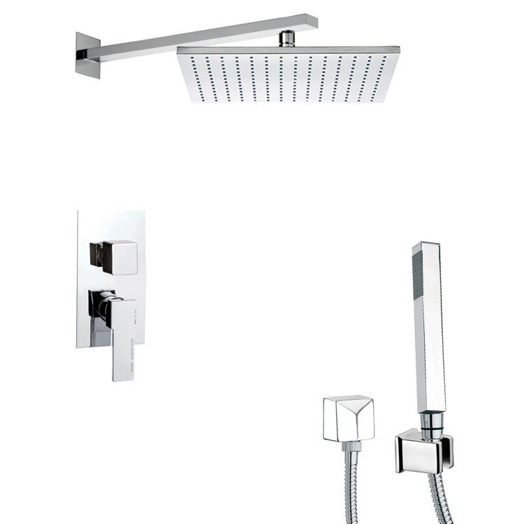 REMER SFH6516 PRIMAVERA MODERN SHOWER SYSTEM WITH HAND SHOWER