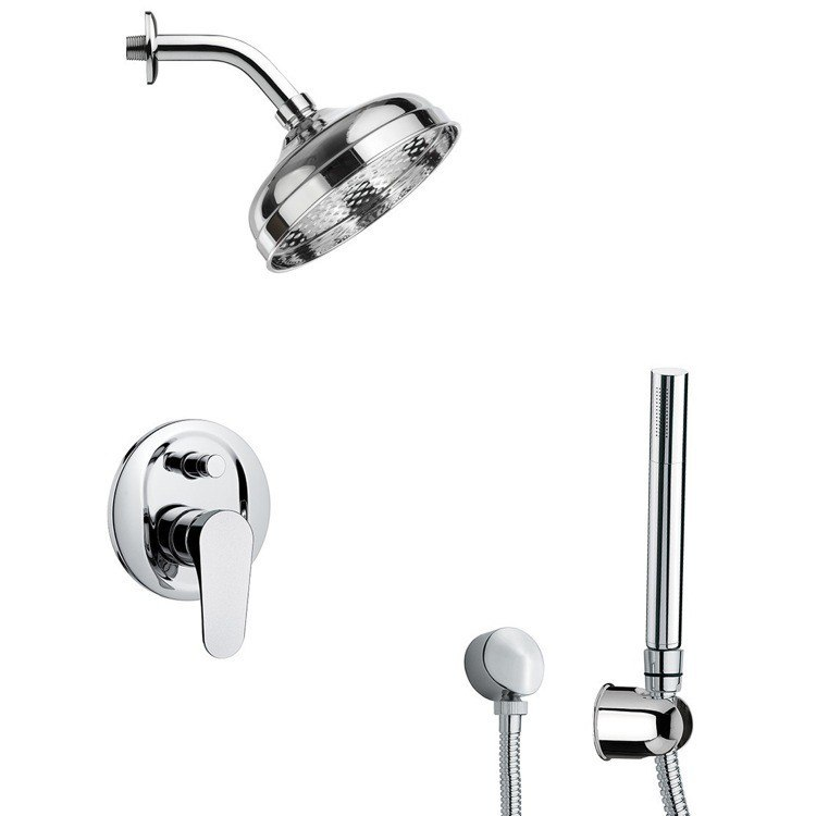 REMER SFH6529 PRIMAVERA SLEEK SHOWER FAUCET SET WITH HAND SHOWER