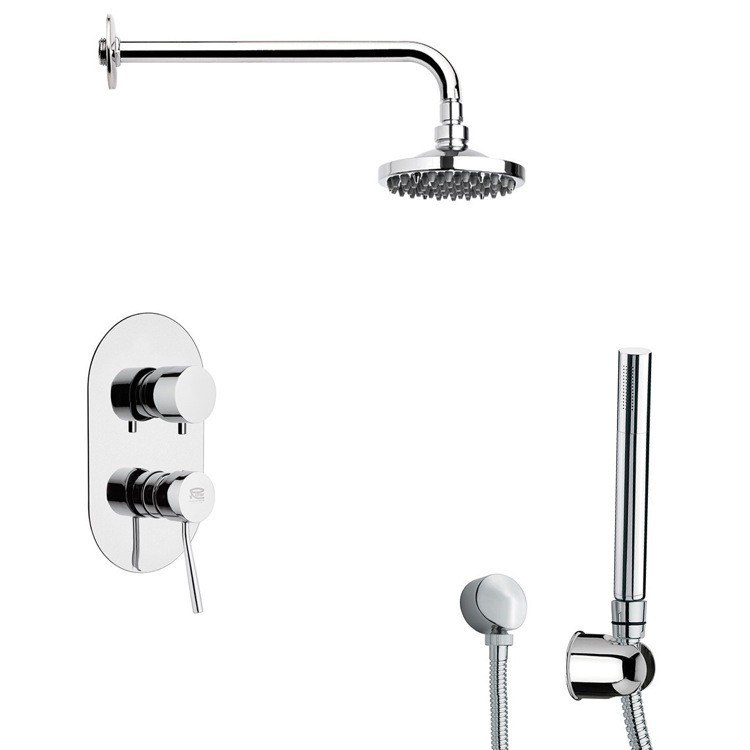 REMER SFH6531 PRIMAVERA MODERN SHOWER SYSTEM WITH HAND SHOWER