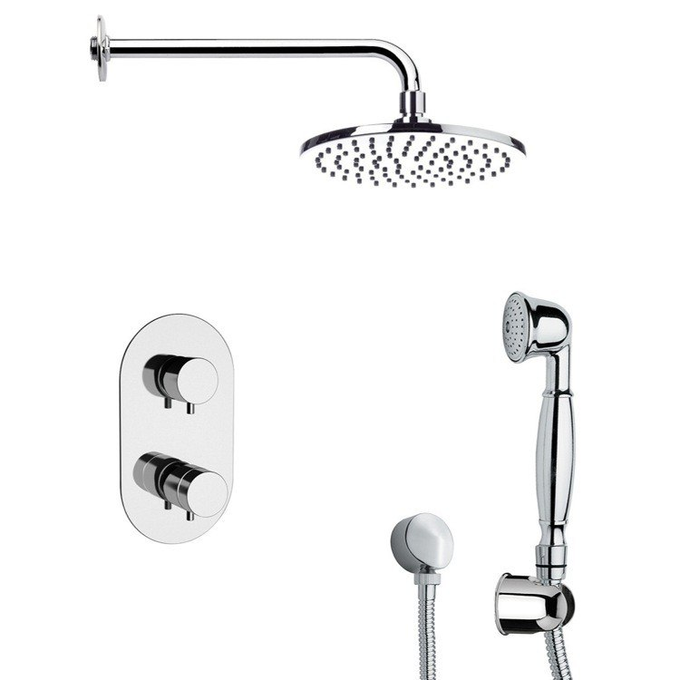 REMER SFH6537 PRIMAVERA MODERN SHOWER SYSTEM WITH HAND SHOWER