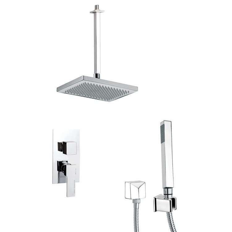 REMER SFH6546 PRIMAVERA MODERN SHOWER SYSTEM WITH HAND SHOWER