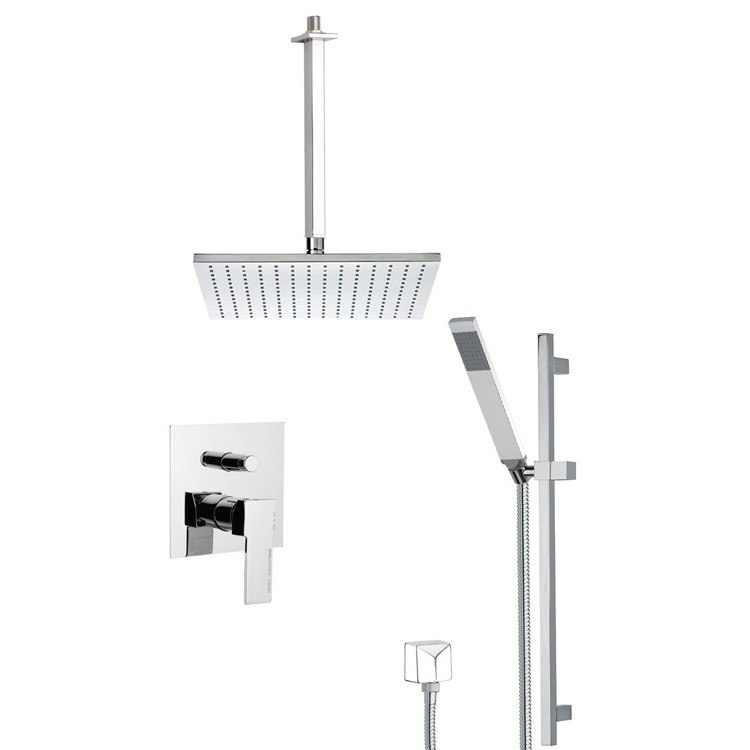 REMER SFR7505 AUTUNNO SQUARE THEMED SHOWER FAUCET