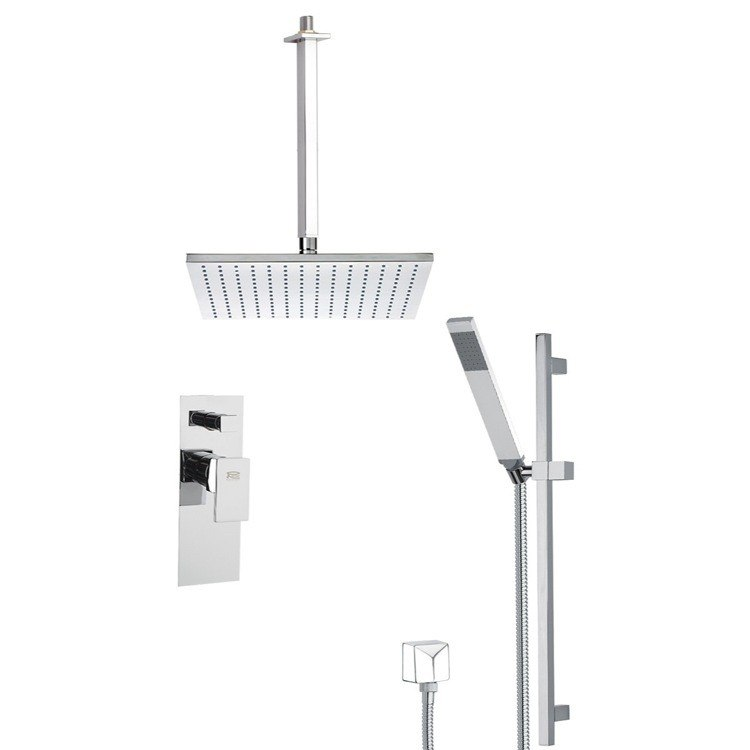 REMER SFR7506 AUTUNNO SHOWER FAUCET WITH SLIDING RAIL