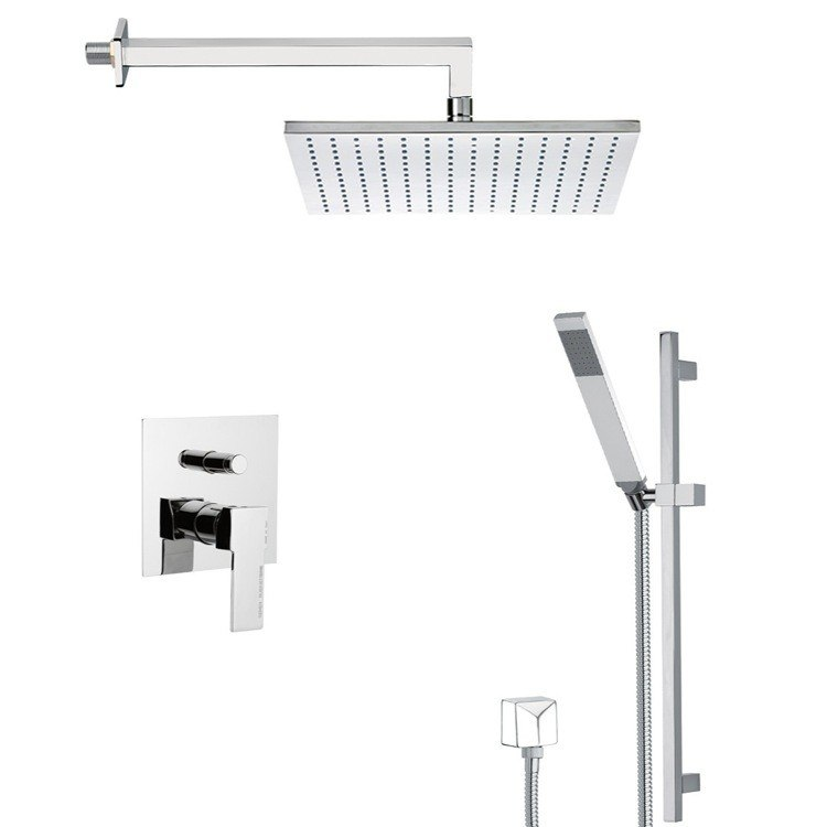 REMER SFR7511 AUTUNNO SHOWER FAUCET WITH SLIDING RAIL