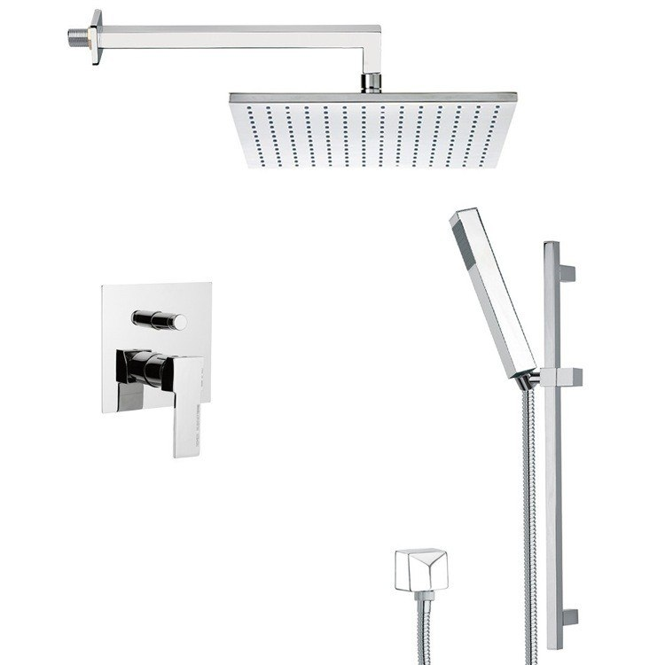 REMER SFR7512 AUTUNNO SQUARE THEMED SHOWER FAUCET