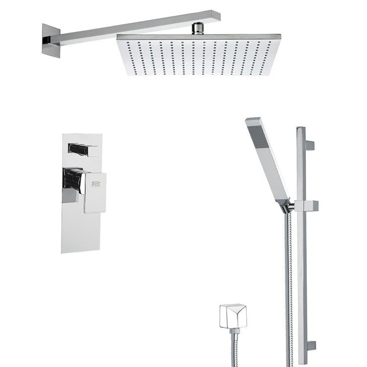 REMER SFR7515 AUTUNNO SHOWER FAUCET WITH SLIDING RAIL