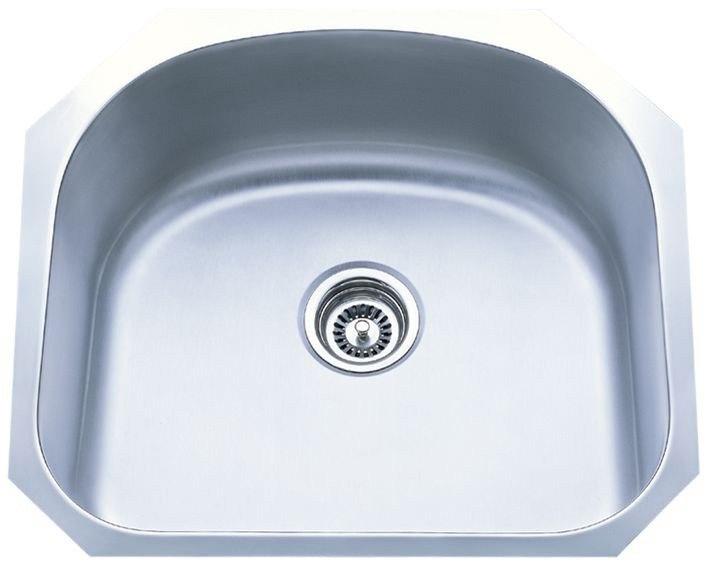 Dowell USA 6001 2320 Undermount Series 23 Inch Undermount Kitchen Sink - 18 Gauge