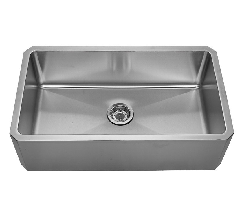 WHITEHAUS WHNAP3218 NOAH'S COLLECTION 31 5/8 INCH SINGLE BOWL FRONT APRON UNDERMOUNT SINK