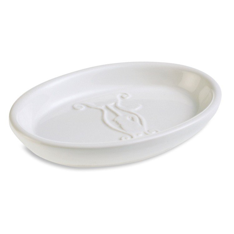 StilHaus 546 Smart or Oval Ceramic Soap Dish