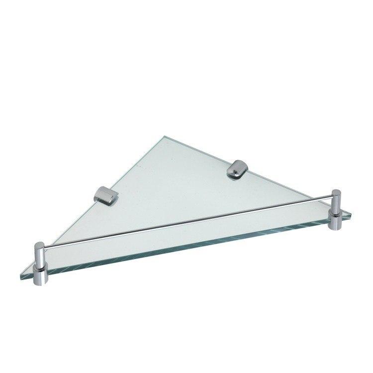 STILHAUS 844 FLUYD 14 X 10 INCH WALL MOUNTED GLASS BATHROOM SHELF
