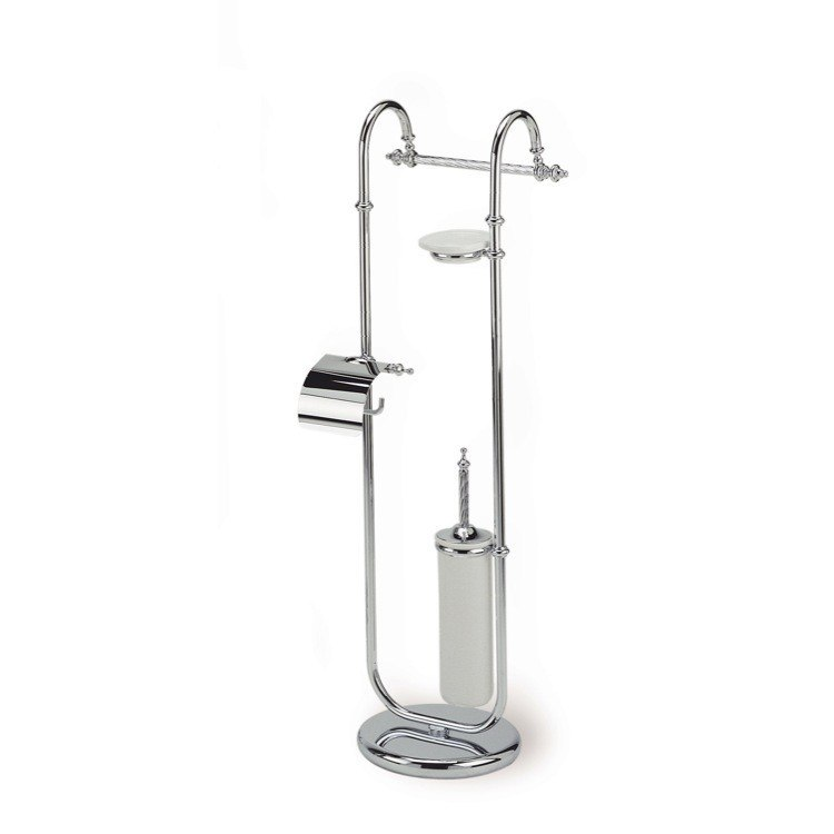 STILHAUS G688 GIUNONE FREE STANDING CLASSIC-STYLE 4-FUNCTION BATHROOM BUTLER