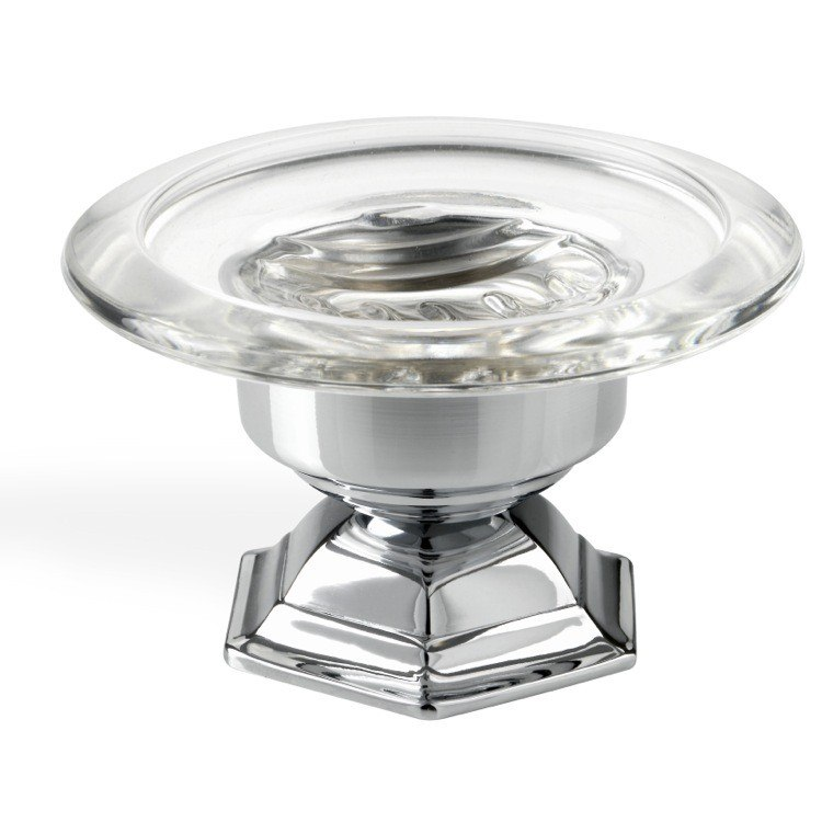 Stilhaus Ma09ap 08 Marte Luxury Free Standing Round Crystal Glass Soap Dish 16