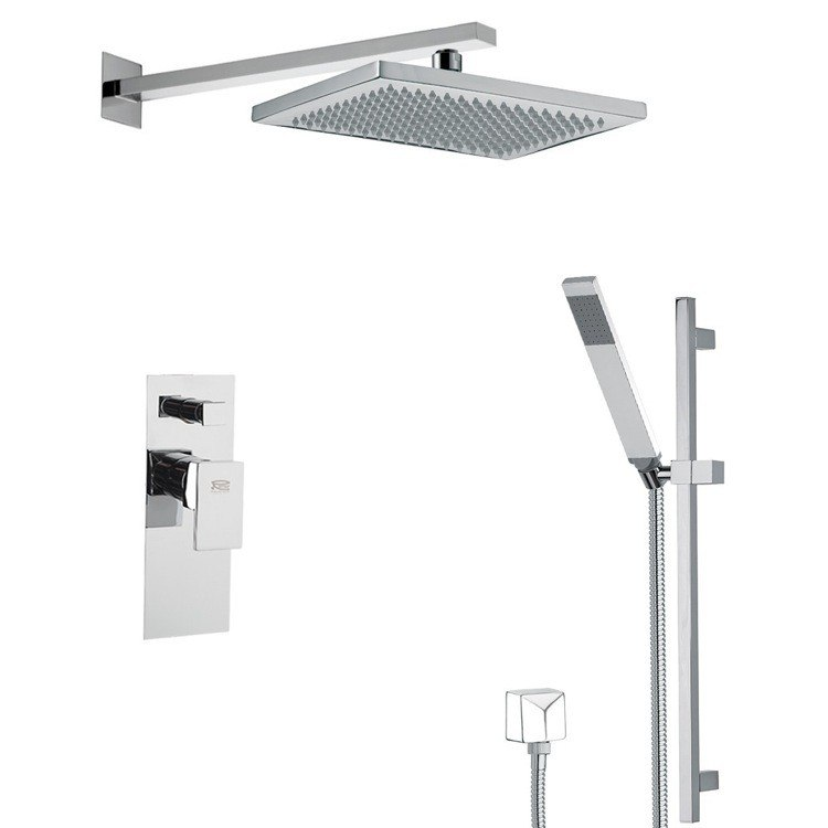 REMER SFR7543 AUTUNNO SQUARE THEMED SHOWER FAUCET