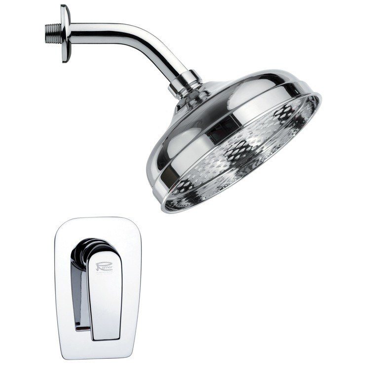 REMER SS1102 MARIO CONTEMPORARY ROUND SHOWER FAUCET SET