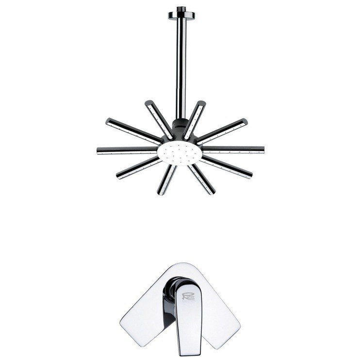 REMER SS1271 MARIO ROUND AND MODERN SHOWER FAUCET SET