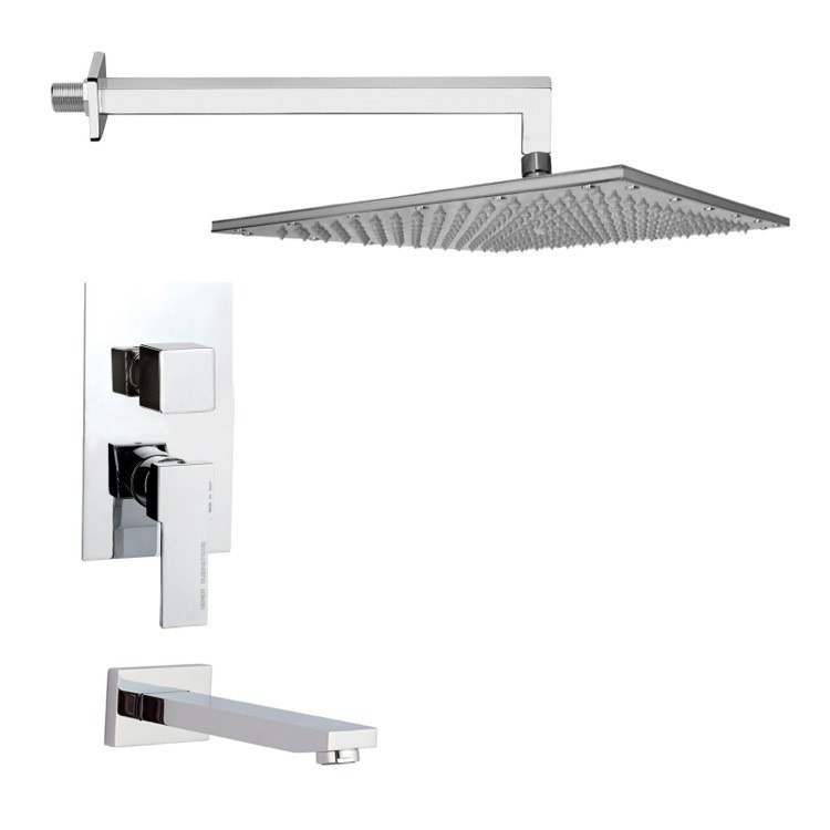 REMER TSF2295 PELEO SQUARE SHOWER SYSTEM