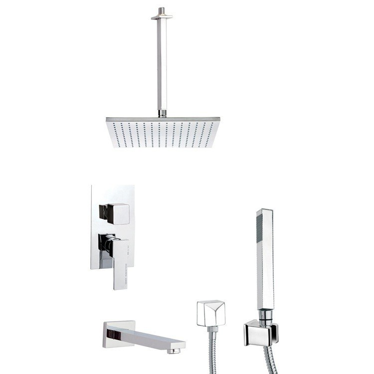 REMER TSH4508 INVERNO SQUARE SHOWER SYSTEM