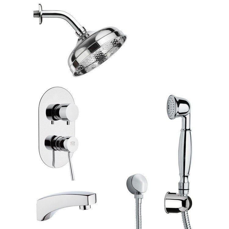 REMER TSH4530 INVERNO CLASSICAL THEMED TUB AND SHOWER FAUCET