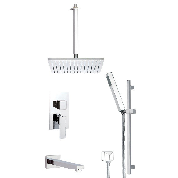REMER TSR9508 ESTATE SQUARE SHOWER SYSTEM
