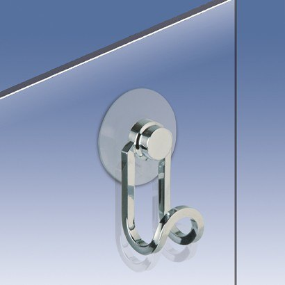 WINDISCH 85044 METAL ACCESSORIES SHOWER DOOR HOOK
