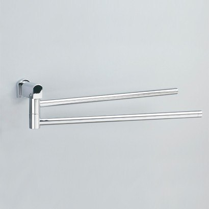 WINDISCH 85141 BELLATERRA 18 INCH DOUBLE SWIVEL TOWEL BAR