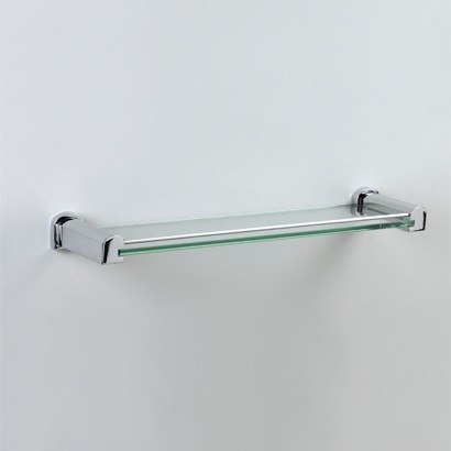 WINDISCH 85145 BELLATERRA 20 INCH GLASS BATHROOM SHELF