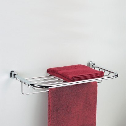 WINDISCH 85160 BELLATERRA 23 INCH TOWEL RACK OR TOWEL SHELF WITH TOWEL BAR