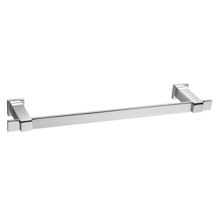 WINDISCH 85209 SQUARE 27 INCH WALL-MOUNTED TOWEL BAR