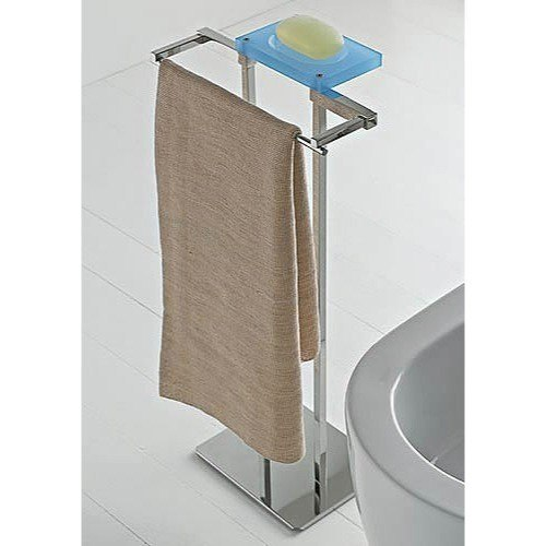 TOSCANALUCE 874 EDEN FREE STANDING 2-FUNCTION BATHROOM ACCESSORY SET