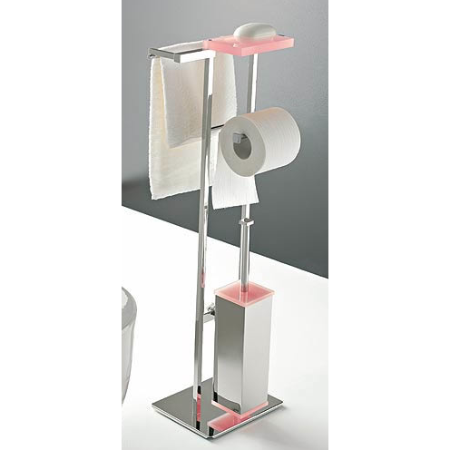 TOSCANALUCE 875 EDEN FREE STANDING 4-FUNTCION BATHROOM ACCESSORY SET