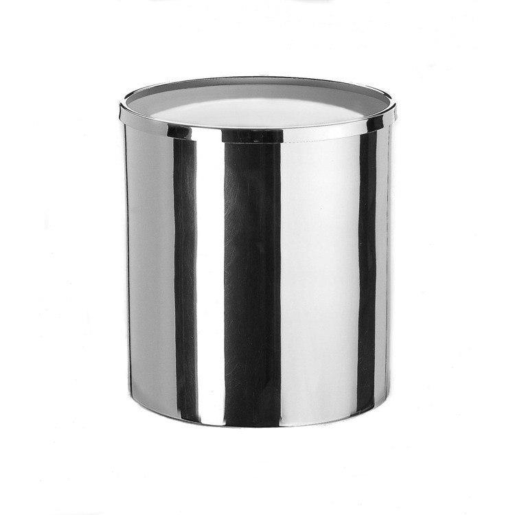 WINDISCH 89101 ACCESSORIES BRASS ROUND WASTE BIN