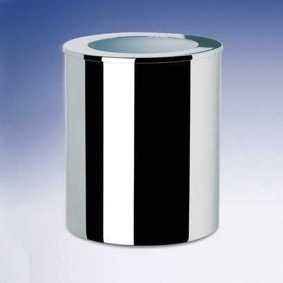 WINDISCH 89129 BATH BINS ROUND METAL BATHROOM WASTE BIN